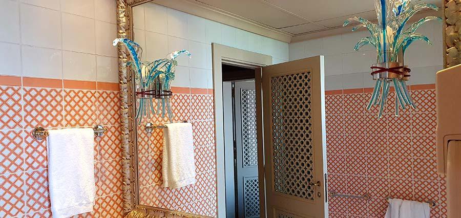 tiles Junior Suite Terrace Hotel Excelsior Venice