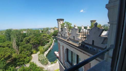 Bathroom View Junior Suite Terrace Hotel Excelsior Venice