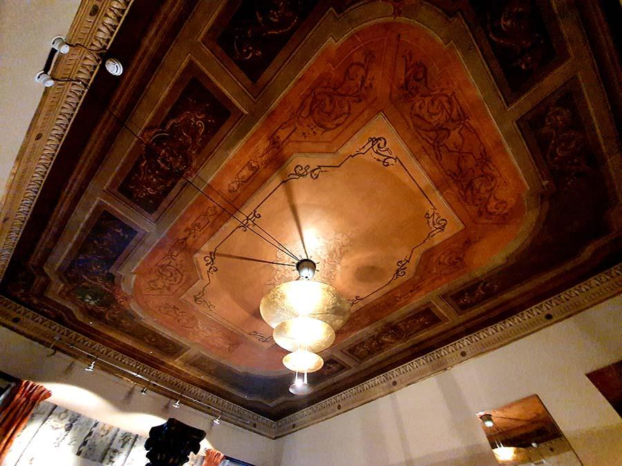ceiling palazzo Hotel hureka venice