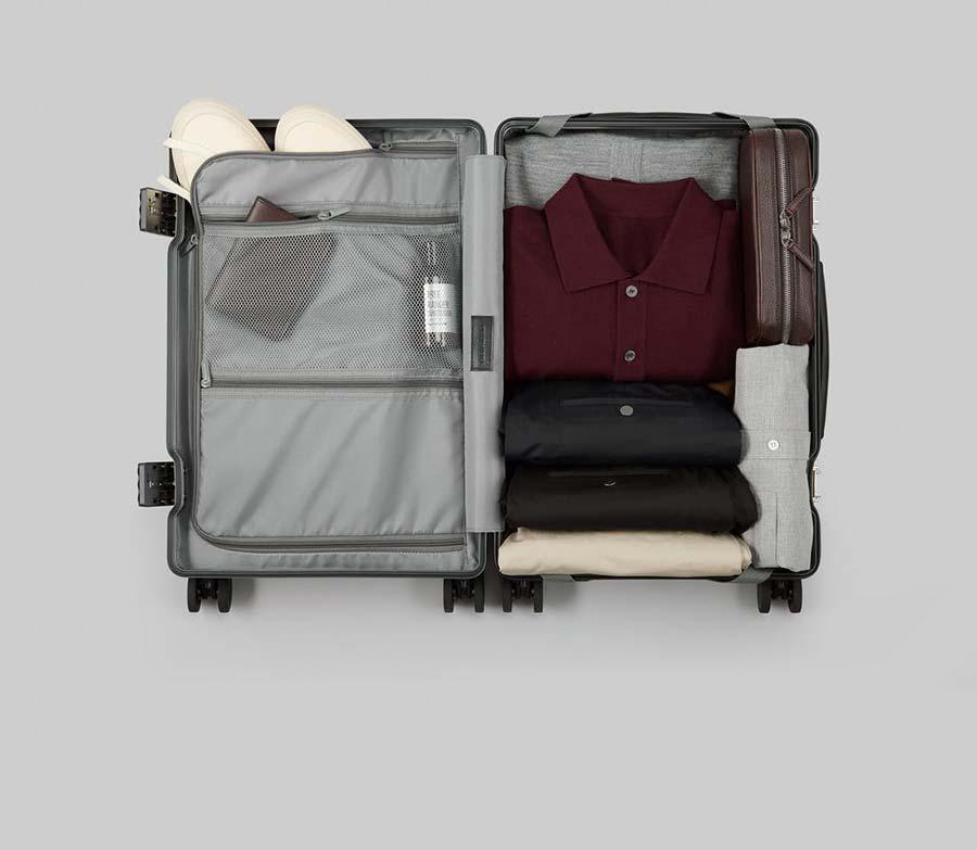 storage Carl Friedrick suitcase