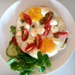 Tuscany eggs breakfast luxury suites Amsterdam