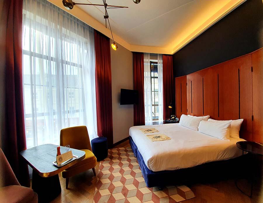 Quarto Hotel Indigo The Hague
