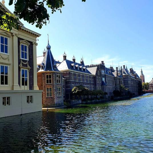 Parliment house The Hague