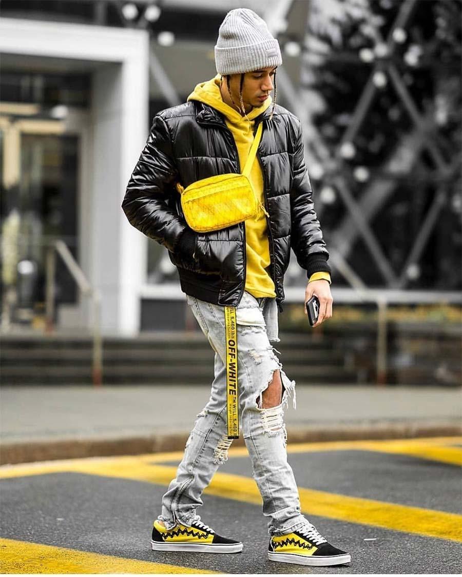 wear yellow
