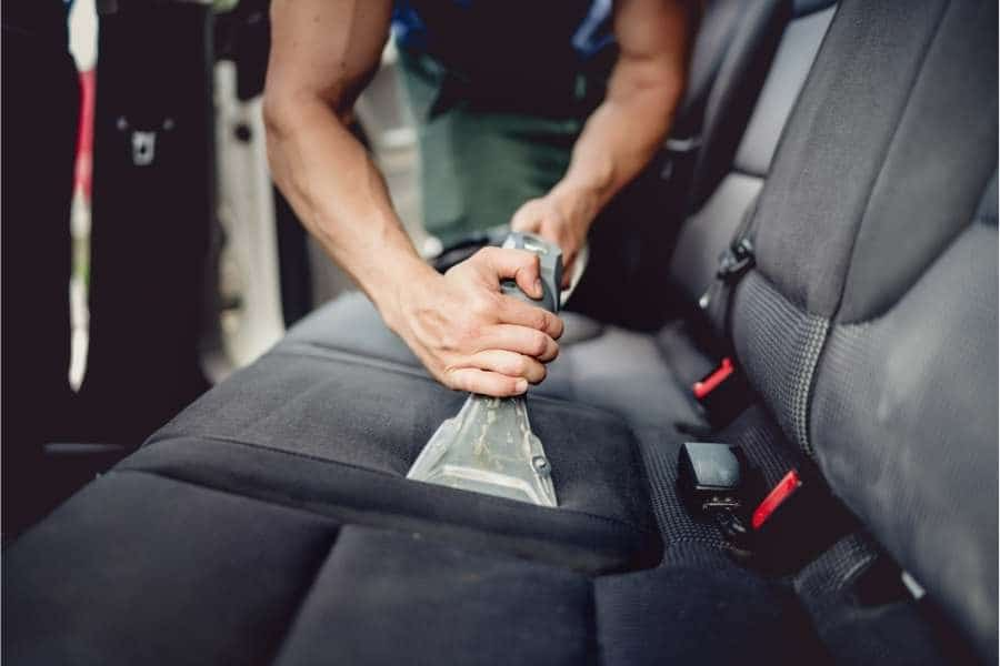 car detailing interior
