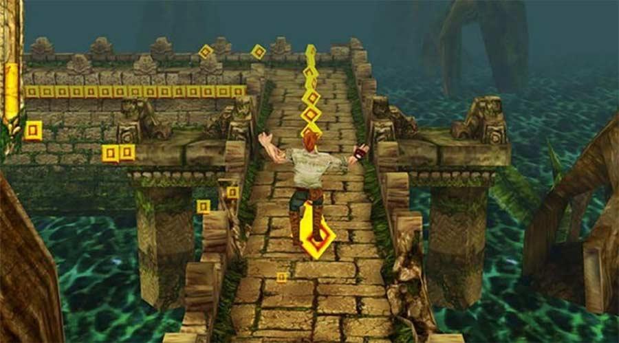 carrera del templo