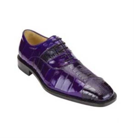 belvedere men s purple