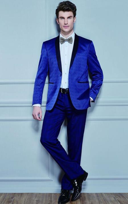 Mens Discounted Cheap Blazer Sport Coat Jacket Online Sale Royal Blue