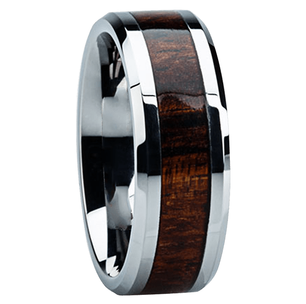 Wood Inlay Rings One Of The Hottest Categories Of Mens