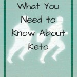 Image of man getting thinner with overlay text - what you need to know about keto