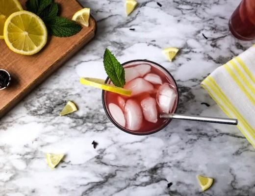 hibiscus tea lemonade feature