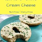 vegan cream cheese recipe pin image 3