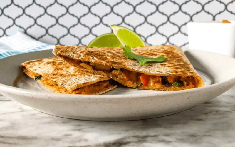 vegan quesadilla feature image