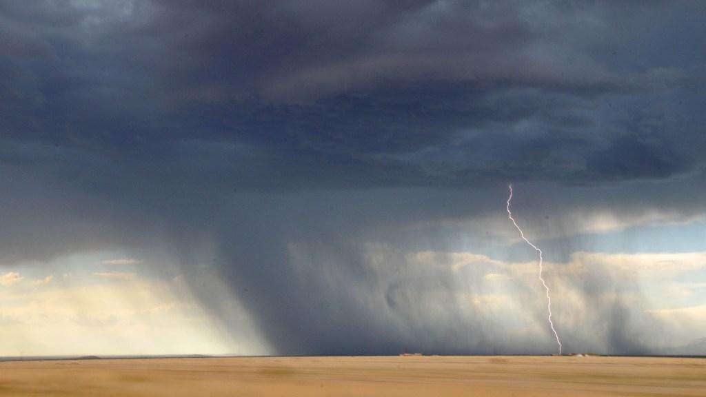 Im wahrsten Sinne aus heiterem Himmel kann die Wut kommen.