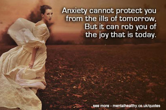 Anxiety Quote Mental Healthy