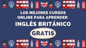 aprende inglés británico cursos gratis