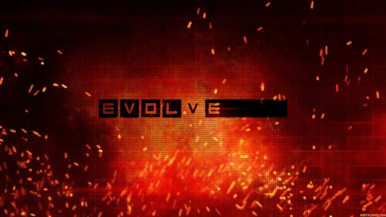 Evolve Logo Wallpaper