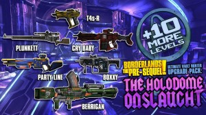 Borderlands the Pre-Sequel The Holodome Onslaught Loot