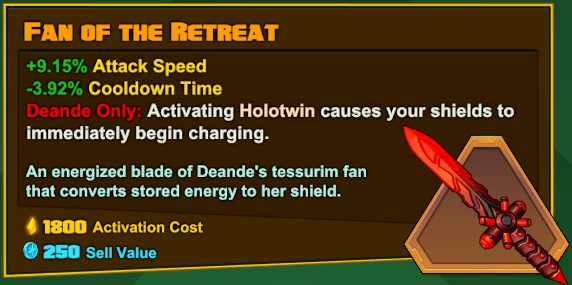 Deande - Fan of the Retreat