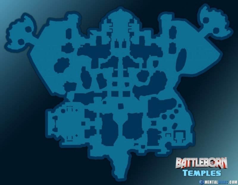 Battleborn Temples Large Map