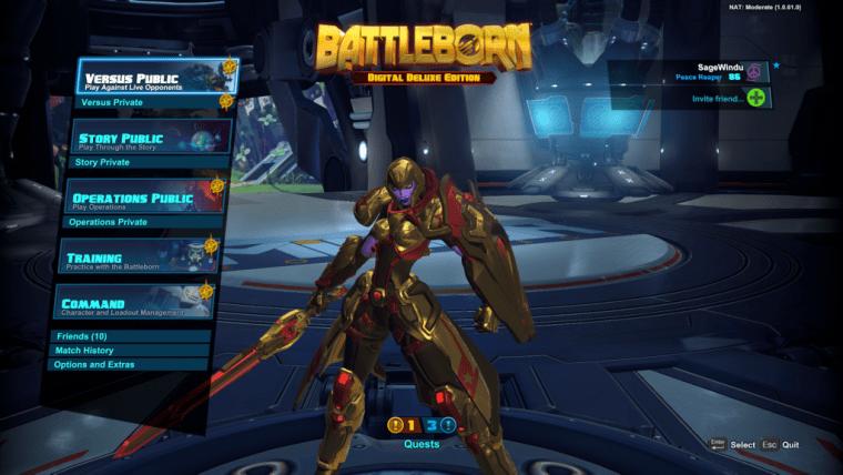 Galilea Golden Skin Battleborn Shift Code