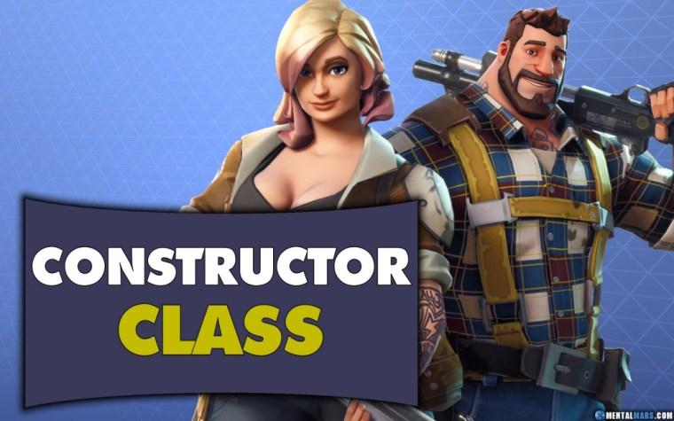 Fortnite Constructor Class