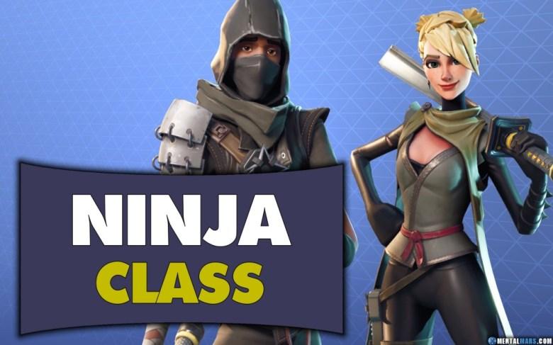 Fortnite Ninja Class