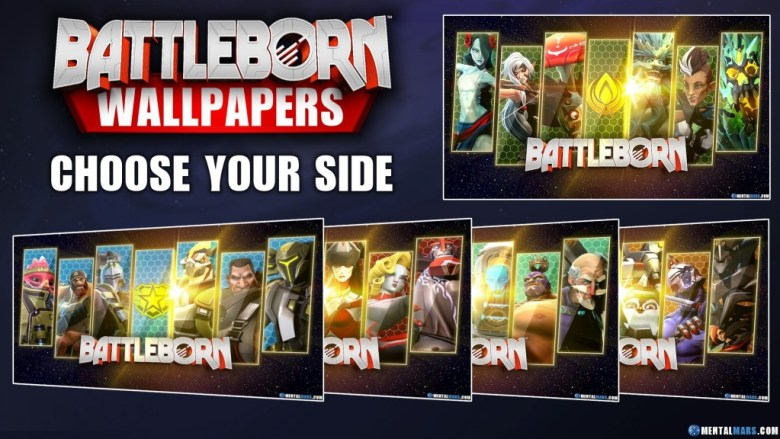 Battleborn Faction Wallpaper Collection - Preview