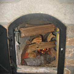 Patio Kitchen Shelves Wall Mounted 10 Diy Wood Stove Designs - Mental Scoop