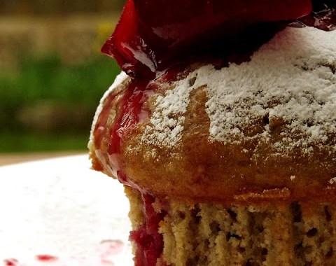 muffins cu prune si marzipan