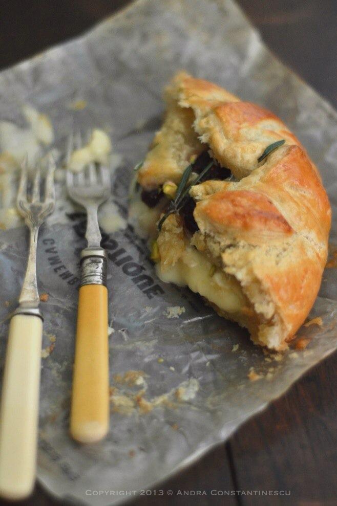 reteta camembert enn croute