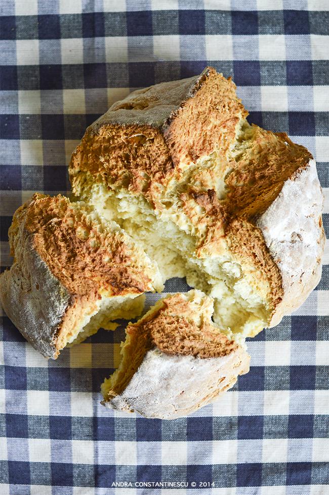 Soda bread - paine cu iaurt si bicarbonat