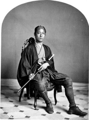 Japanese-Warriors-in-the-middle-late-1800s-21