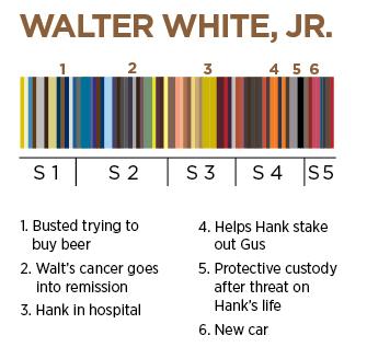 I colori di Walter White Jr.