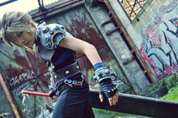 Cloud Strife versione Yoshitaka Amano - Dissidia 012 Final Fantasy