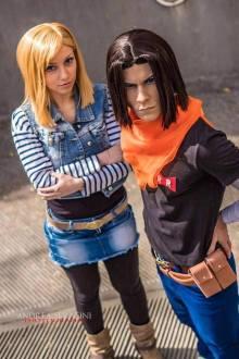 C17 e C18 - Dragon Ball Z - Cosplayer: Federica e Claudio - Foto di Andrea Serafini