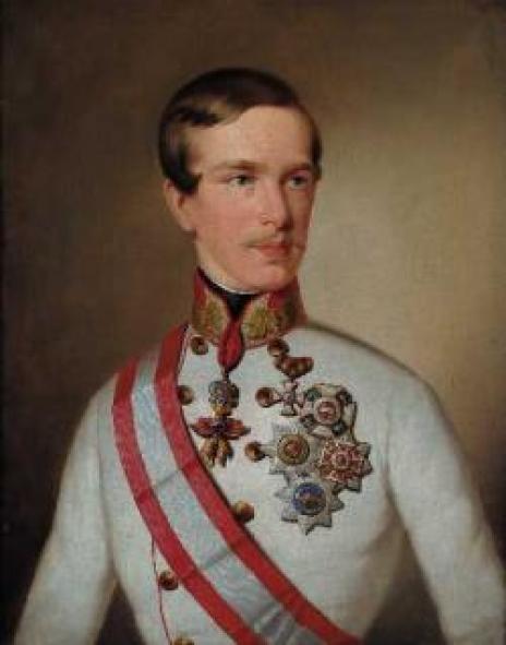 Francesco Giuseppe da giovane