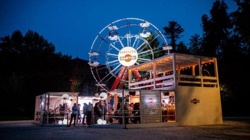 Aperitivi sulla ruota panoramica al Parco Sempione orari e prezzi di Terrazza Martini Temporary