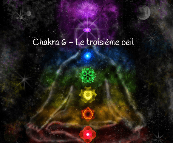 chakra Ajna ou chakra du troisieme oeil - 580 x 480