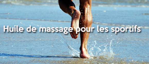 Sportifs : huile de massage anti-douleurs