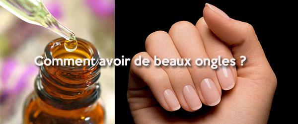 Recettes naturelles pour avoir de beaux ongles