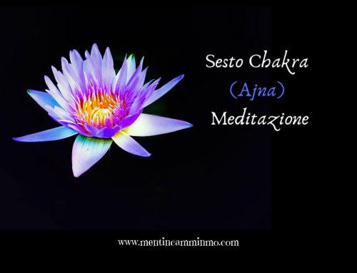 Sesto Chakra meditazione