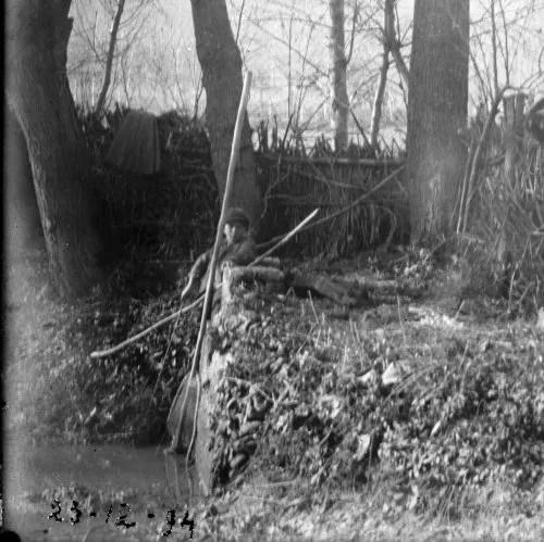 La piccola diga per bloccare i pesci, 23 dicembre 1894. Collezione privata Fernando Saccoccia
