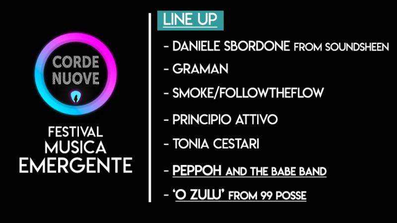 """""""Corde Nuove – Festival Musica Emergente"""": i dettagli della prima edizione"""