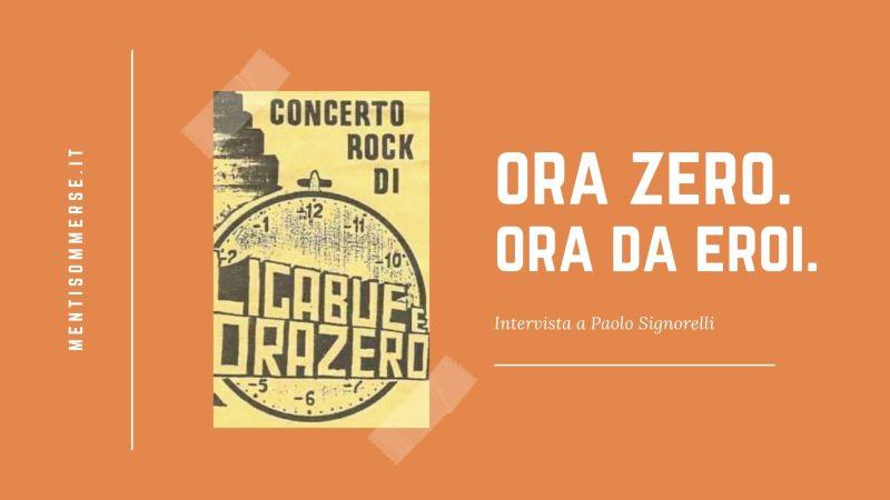 La sala prove a Lemizzone e i concerti fuori e dentro il borgo: l'Ora Zero di Paolo Signorelli [INTERVISTA]
