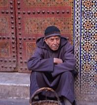 Foto di Penlope Volpi: un mendicante a Marrakech