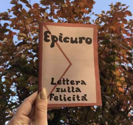 """""""Lettera sulla Felicità"""" di Epicuro, Millelire, Stampa Alternativa"""