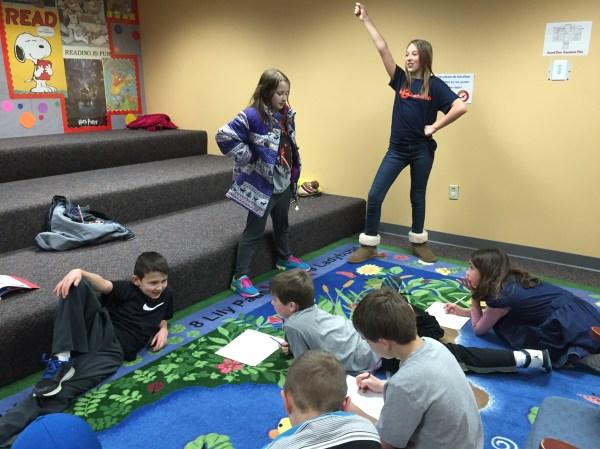 Lifelong Learning Mentor Public Library Strike Pose