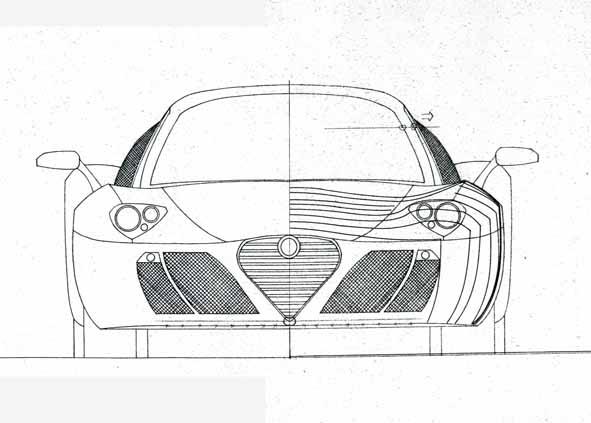 ESAMI DISEGNO DI CARROZZERIA: è il turno dell'Alfa Romeo
