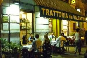 Trattoria Da Valentino - Via Cavour, 293, Roma